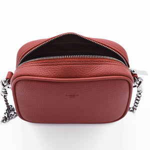 Grace Micro Crossbody [Signet] - Orange [Sample Sale]
