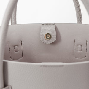 Cher Tote [Signet] - Light Mud Gray