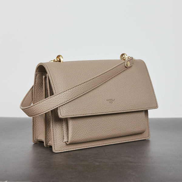 Eloise Satchel [Signet] - Light Mud Gray [Pre-Order]