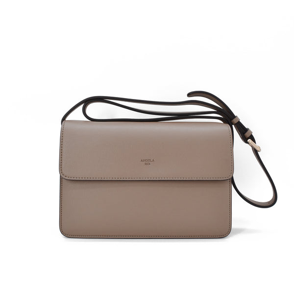 Hamilton Crossbody [Signet] - Mud Beige [Sample Sale]