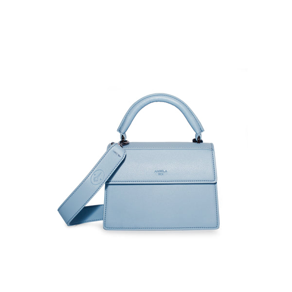 Hamilton Satchel Micro [Signet] - Nude Light Blue