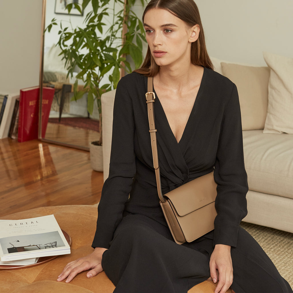 Hamilton Cross-body - Black [Sample Sale]