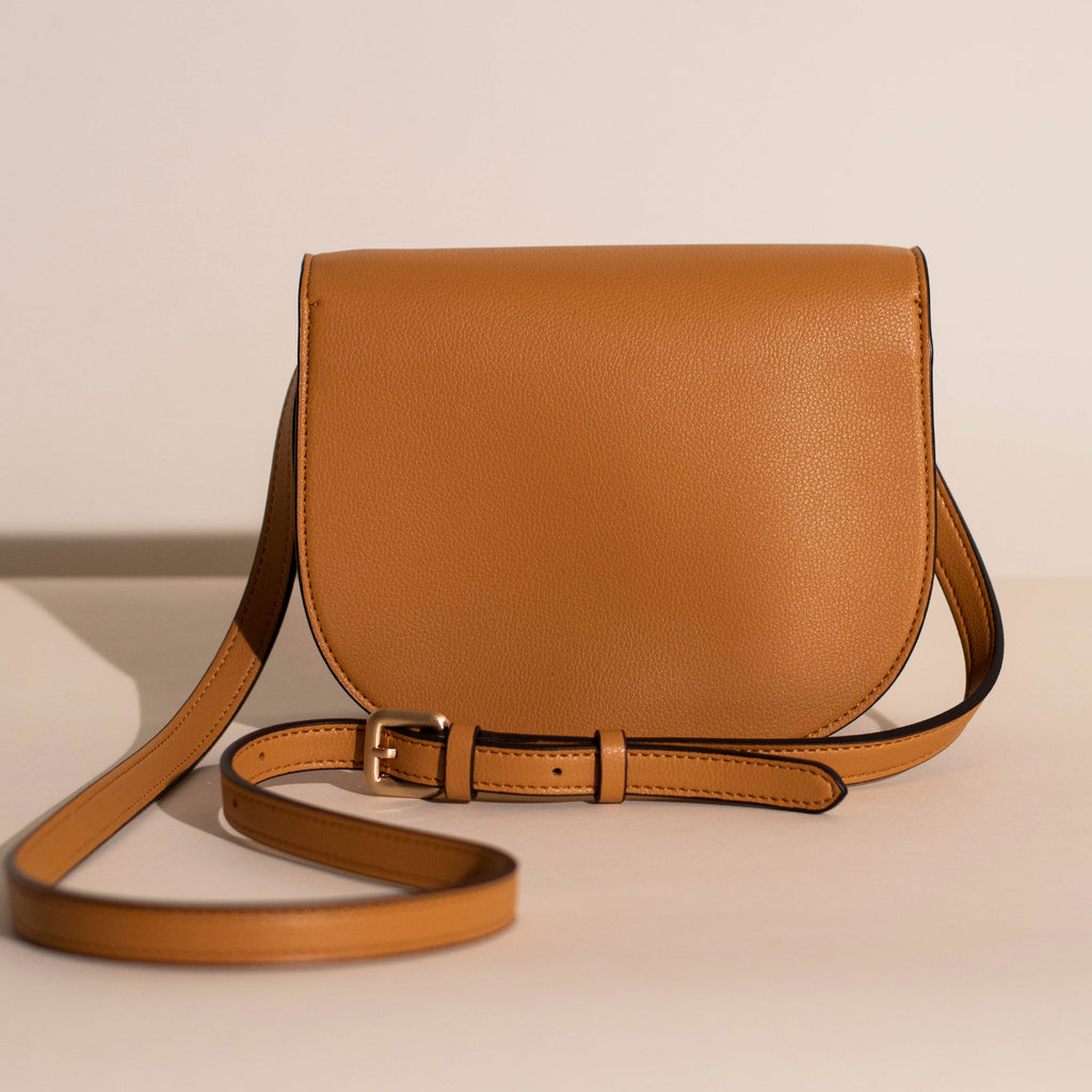 Hamilton Round Cross-body - Mustard