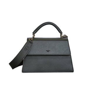 Hamilton Satchel [Signet] - Dark Green