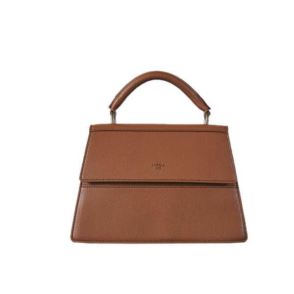 Hamilton Satchel [Signet] - Brown