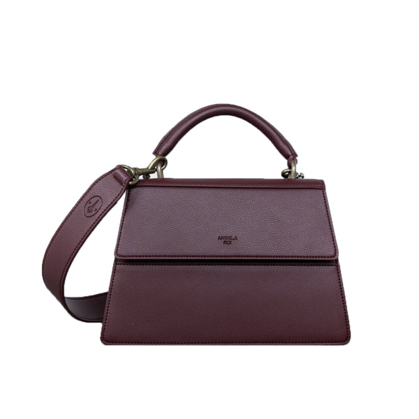 Hamilton Satchel [Signet] - Bordeaux [Sample Sale]
