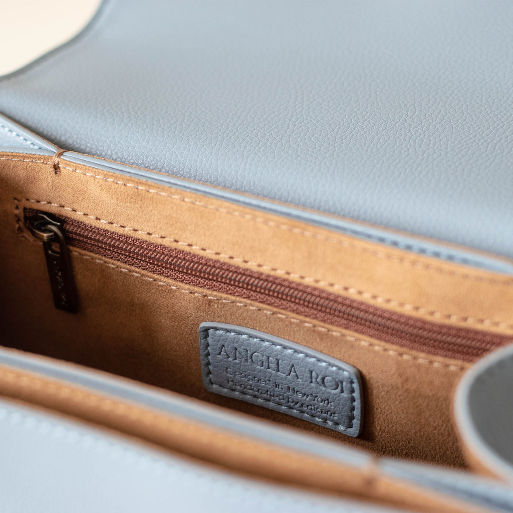 Hamilton Satchel - Light Nude Blue [Sample Sale]