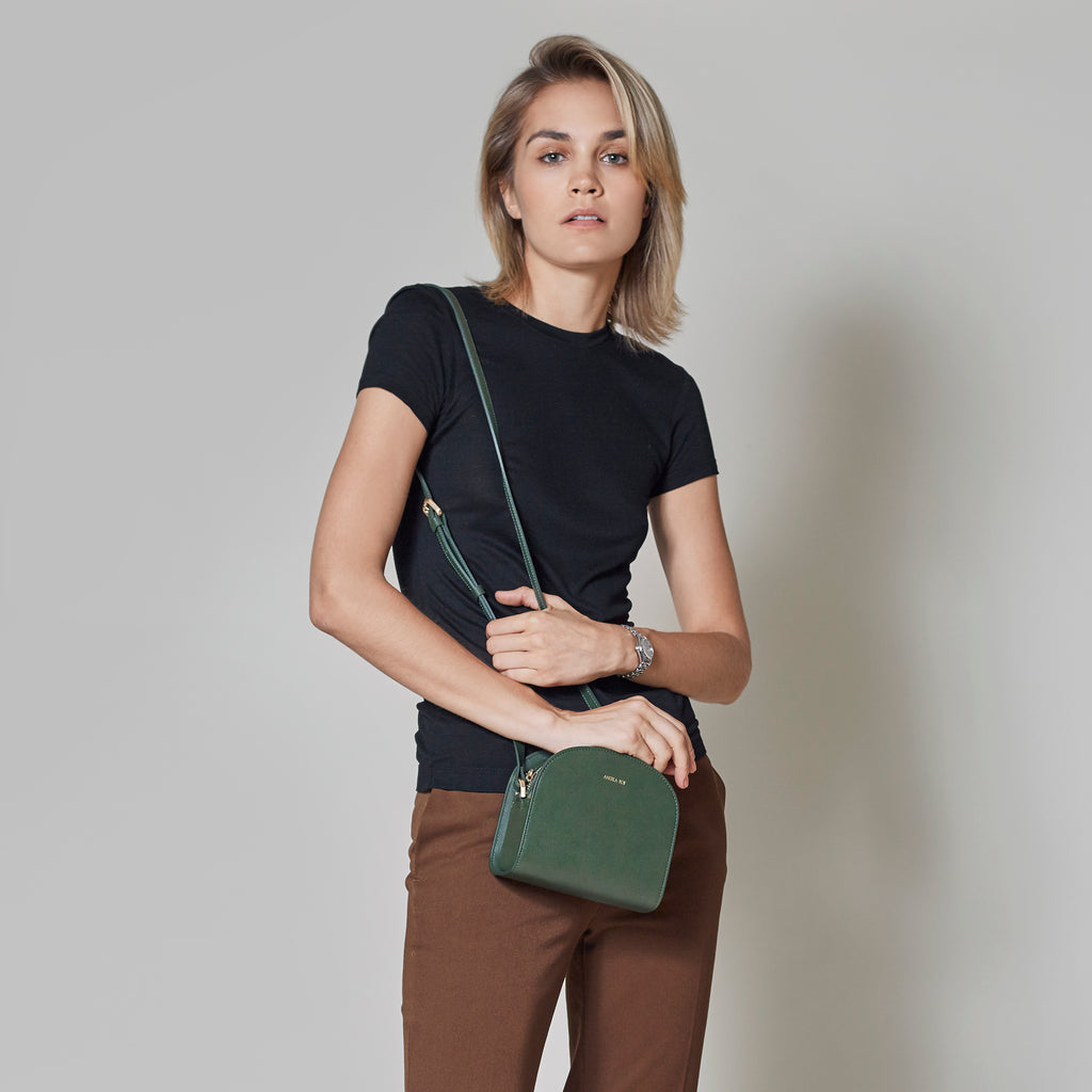 Luna Cross-Body - Light Gray