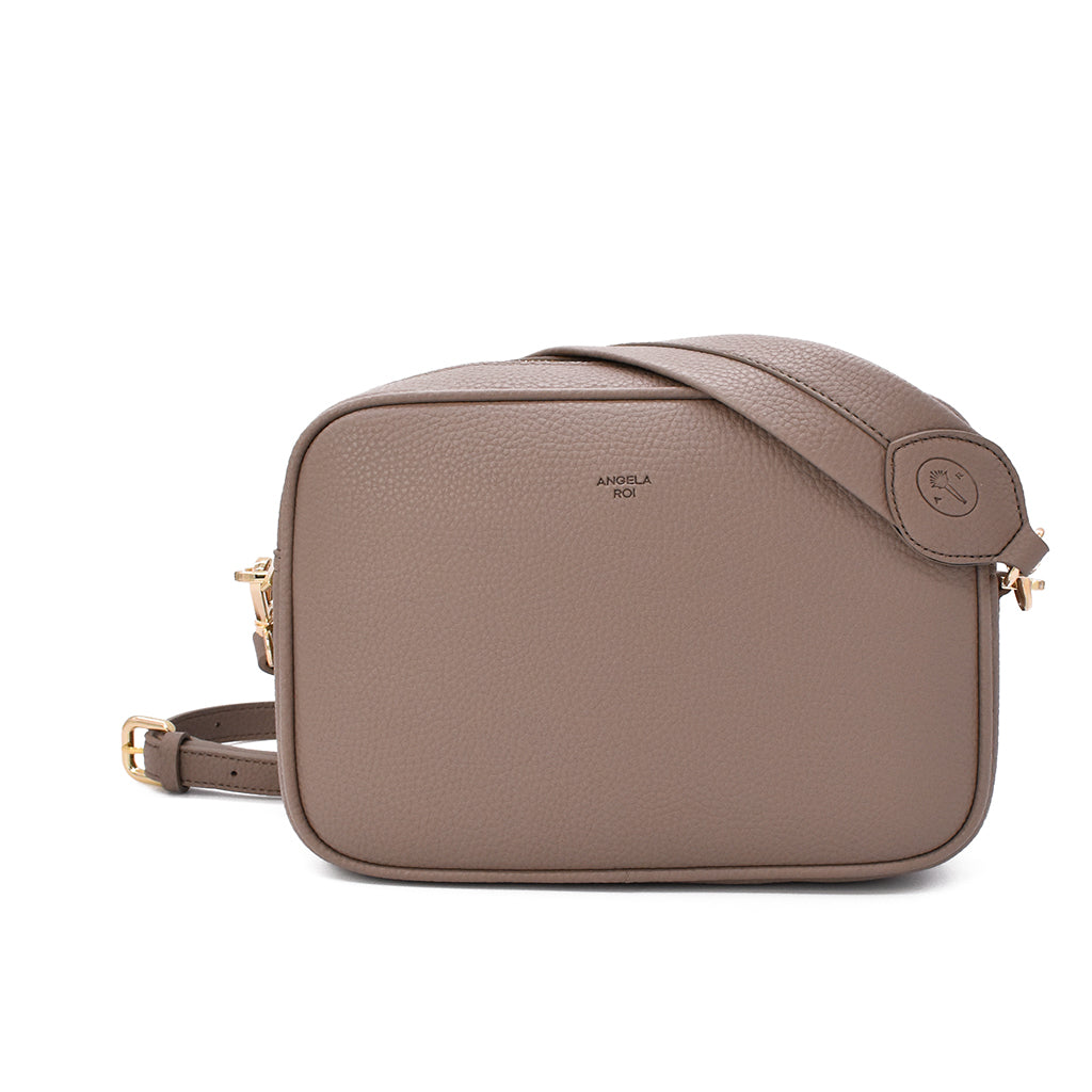 Grace Crossbody [Signet] - Light Mud Gray