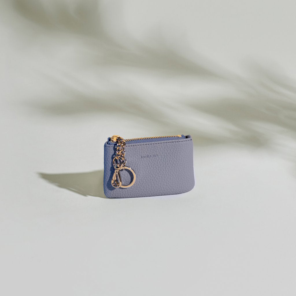 Zuri Card Pouch   Lavender by Angela Roi