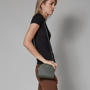 Luna Cross-Body - Dark Green