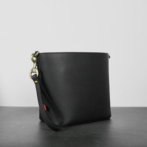 Angelou Mini Bucket [Signet] - Black