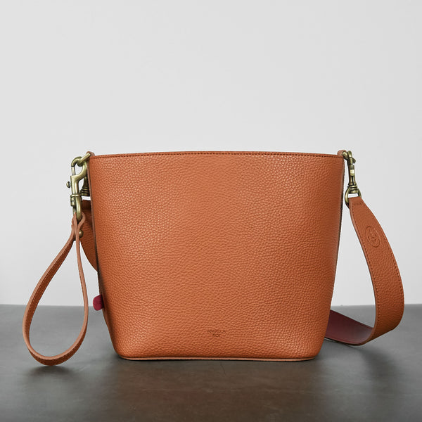 Angelou Mini Bucket [Signet] - Brown [Sample Sale]