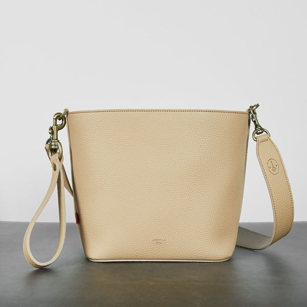 Angelou Mini Bucket [Signet] - Ecru [Sample Sale]