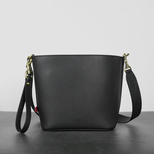 Angelou Mini Bucket [Signet] - Black [Sample Sale]
