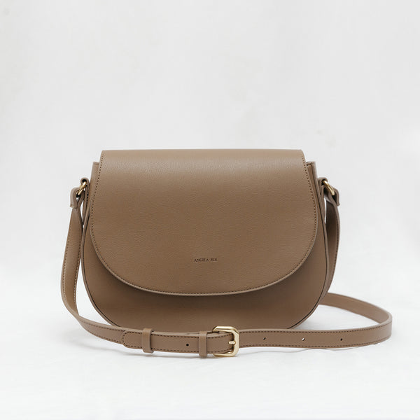 Morning Cross-body -  Mud Beige [Classic] [Sample Sale]