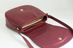 Morning Cross-body - Bordeaux (Sample Sale)