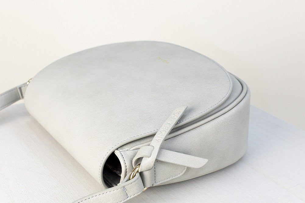 Morning Cross-body -  Light Gray (Sample Sale)