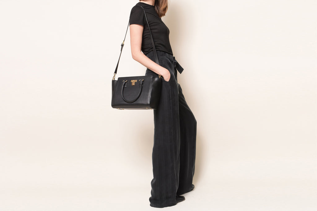 Sunday Tote Classic - Black [Sample Sale]