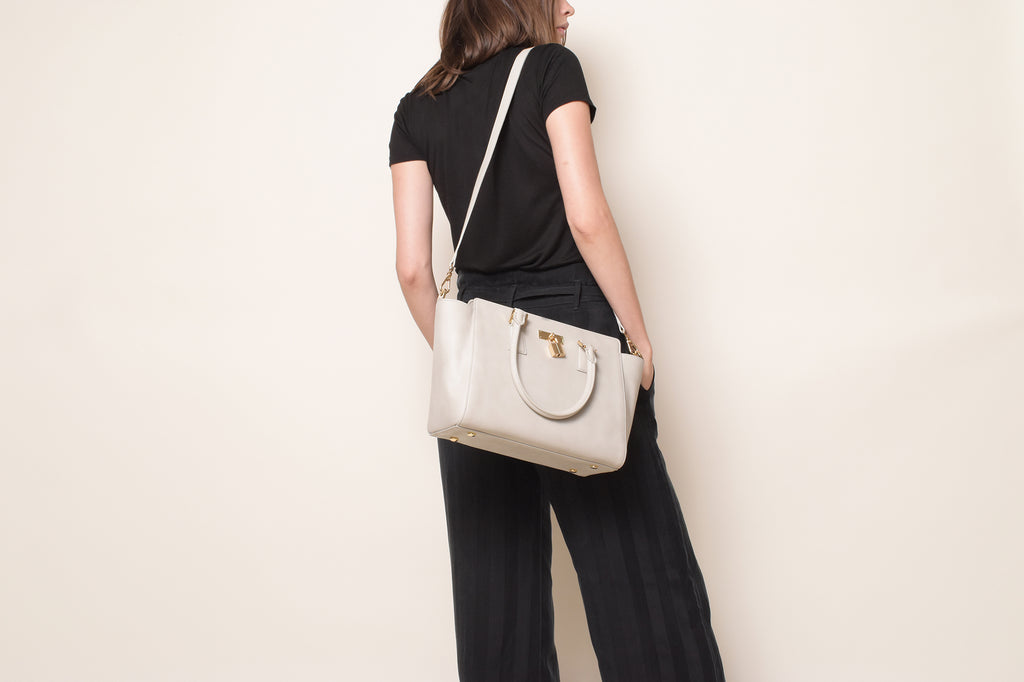 Sunday Tote Classic - Light Gray [Sample Sale]
