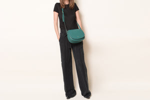 Morning Cross-body - Forest Green