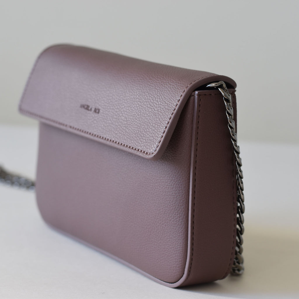 Hamilton Mini Chain Cross-body - Ash Rose [Sample Sale]