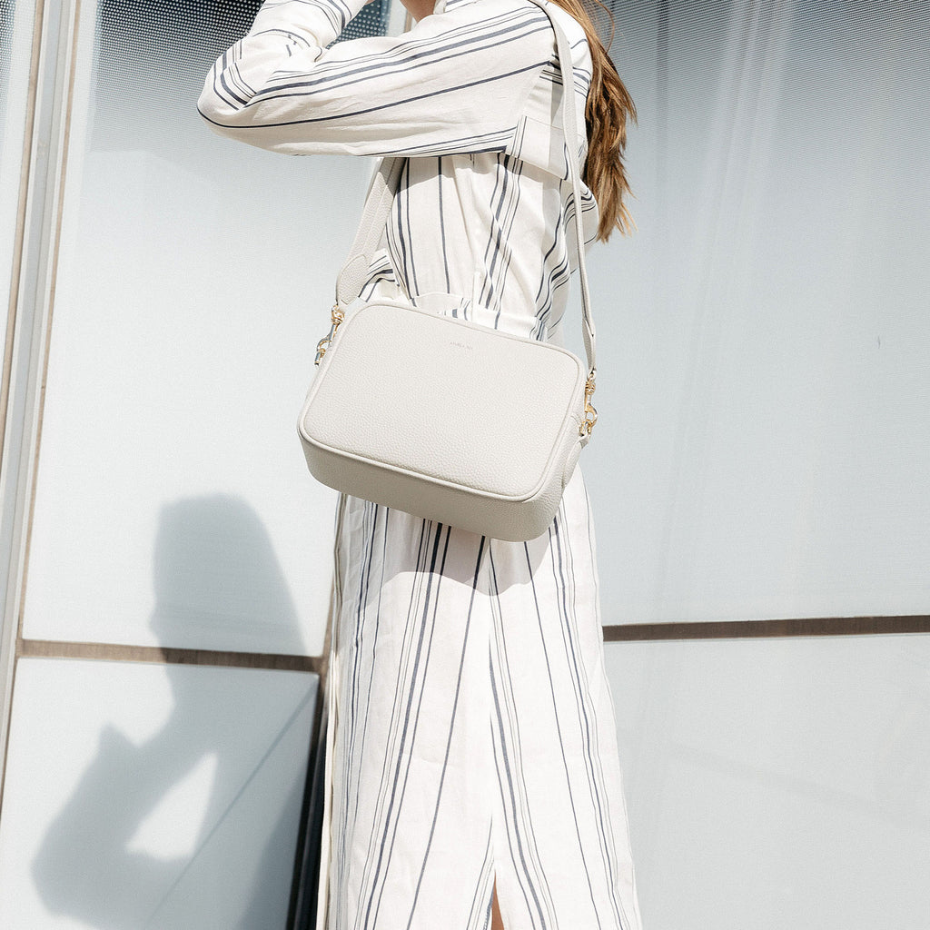 Grace Cross-body - Light Gray [No AR Logo] [Sample Sale]