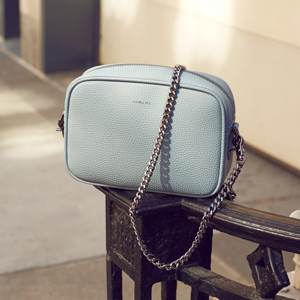 Grace Mini Cross-body - Light Nude Blue [Pre-order]