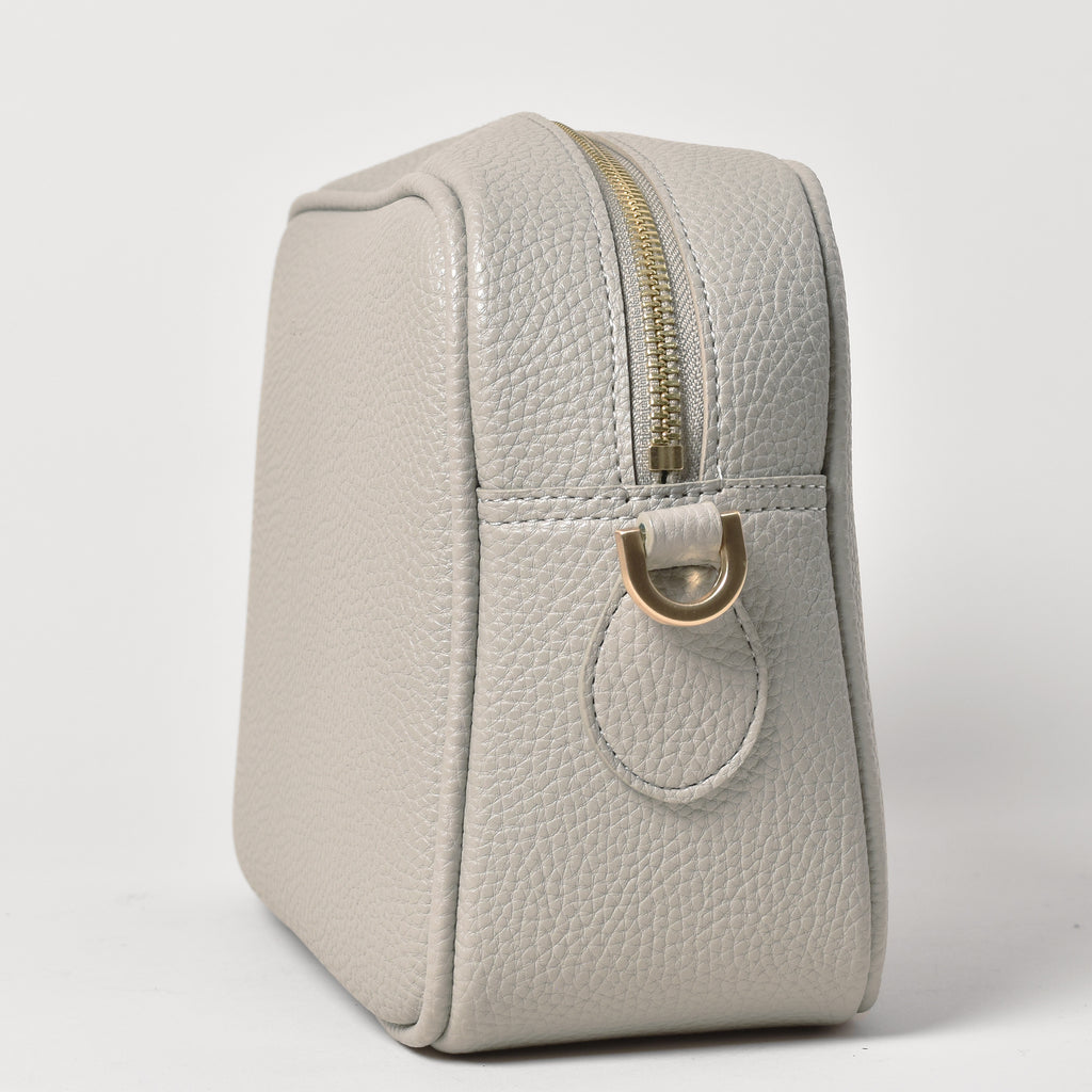 Grace Cross-body - Light Gray [Sample Sale]