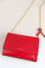 V Chain Cross-Body - Red