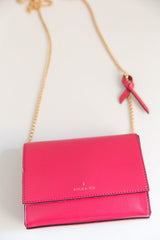 V Chain Cross-Body - Pink (Sample Sale)