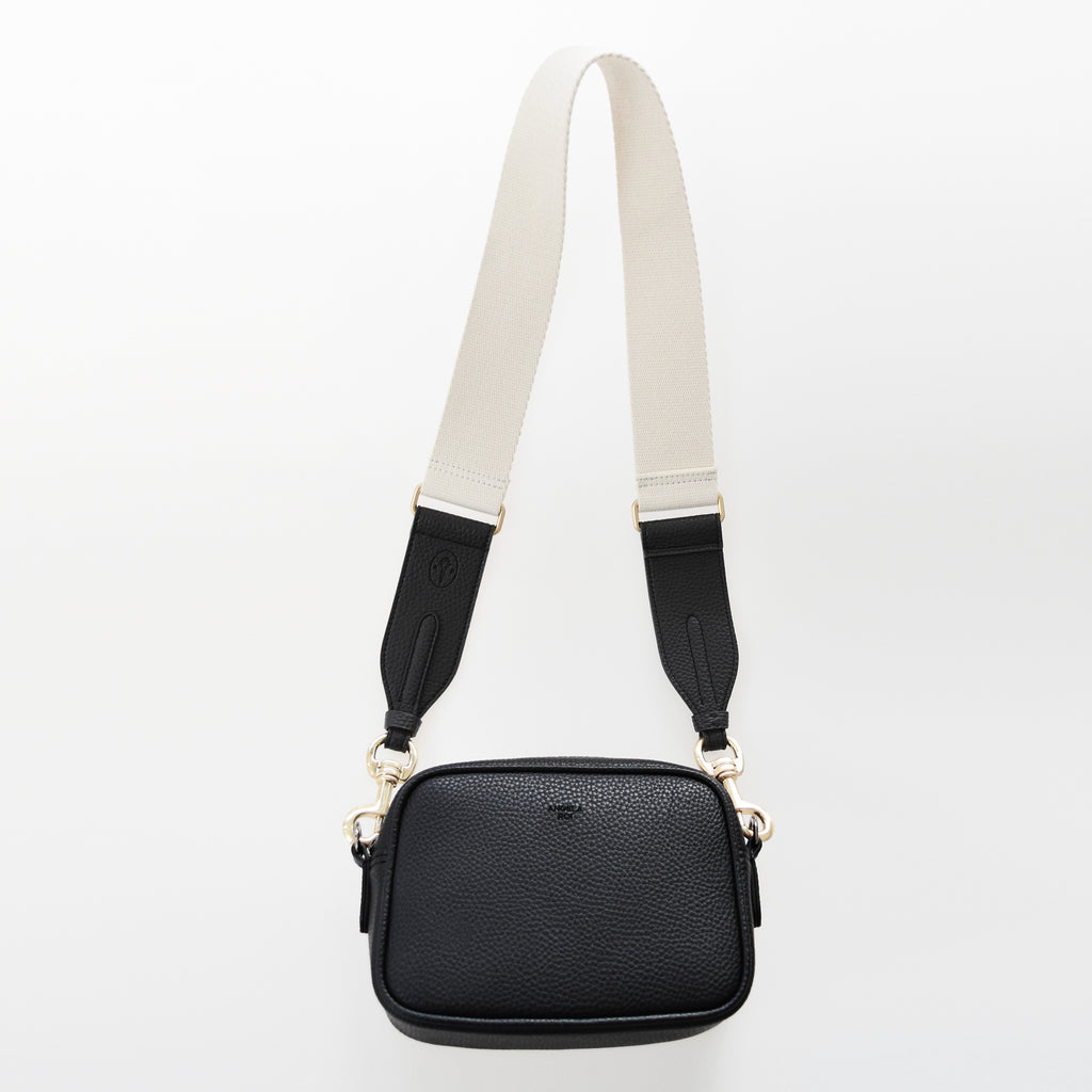 Grace Micro Crossbody [Signet] - Black