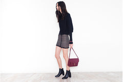 Anya Cross-body - Bordeaux