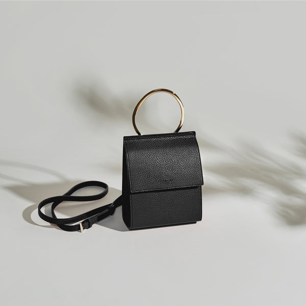 Ella Ring Handle - Black