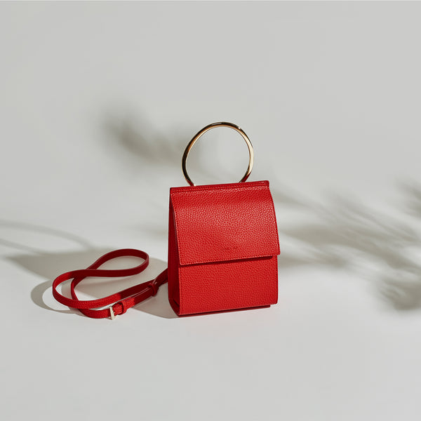 Ella Ring Handle - Red