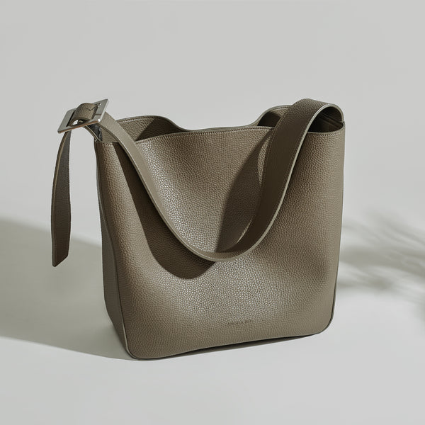 Jane Shoulder Bag - Ash Brown