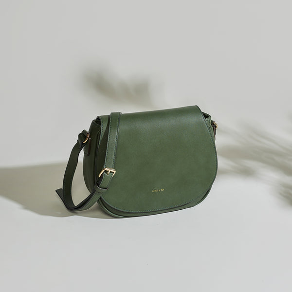 Morning Cross-body - Dark Green
