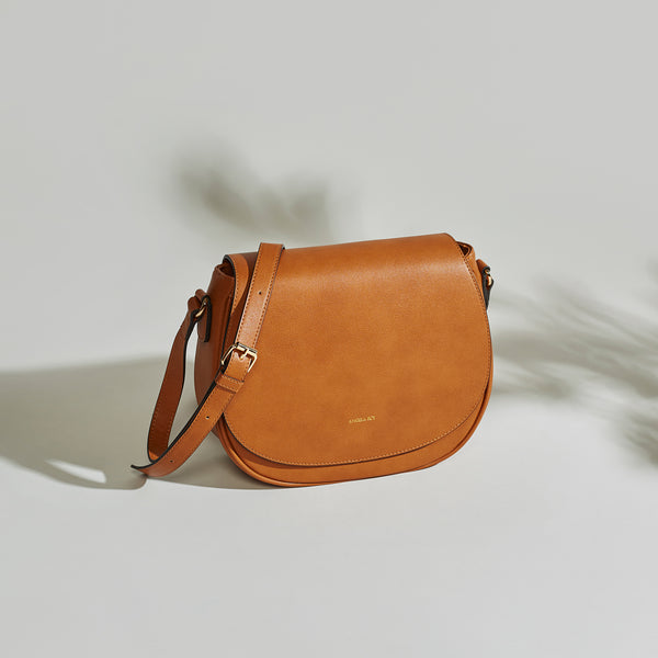 Morning Cross-body - Cognac
