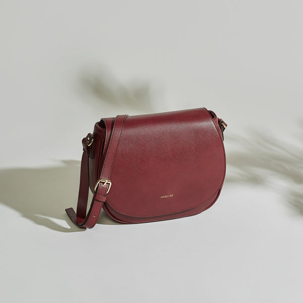 Morning Cross-body - Bordeaux
