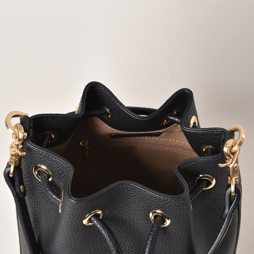 Madeline Mini Bucket - Black [Sample Sale]