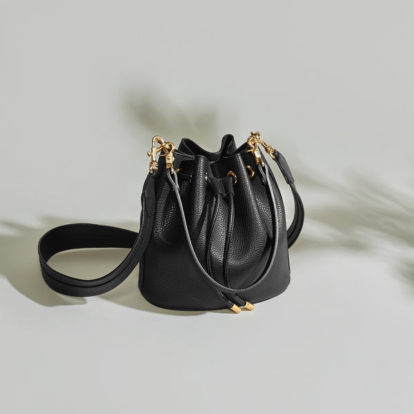 Madeline Mini Bucket - Black