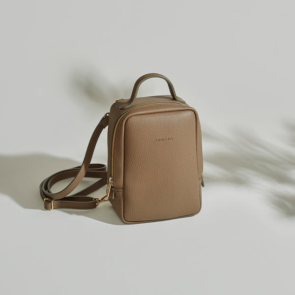 Mia Mini Backpack - Mocha