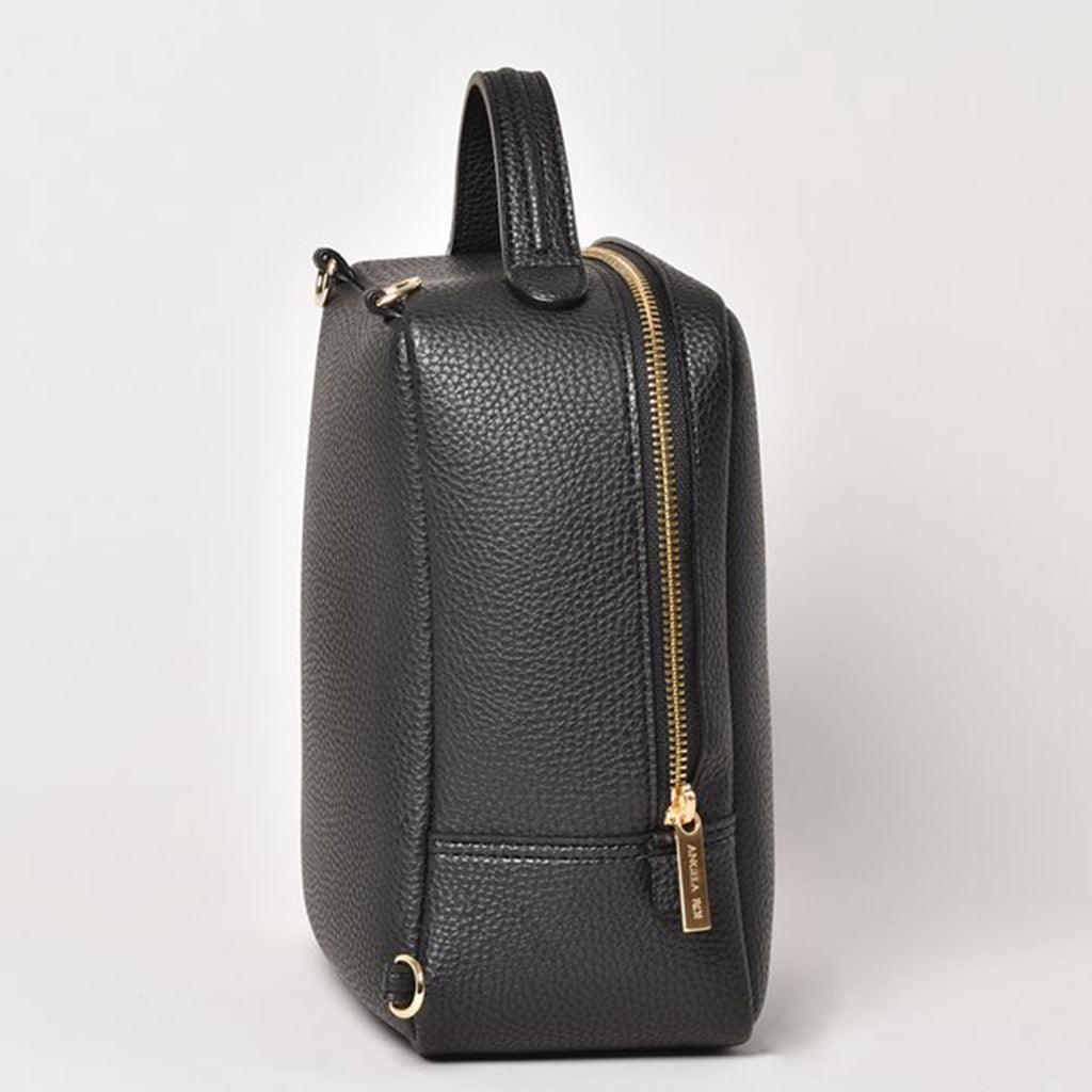 Mia Mini Backpack - Black [AR Hardware Logo] [Sample Sale]
