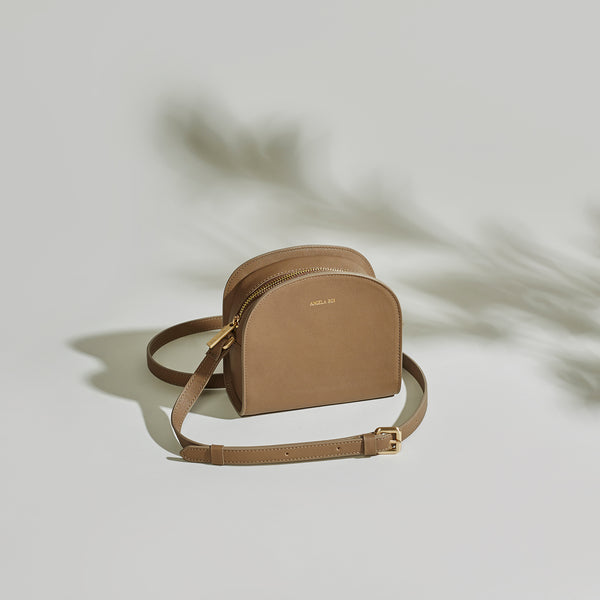 Luna Cross-Body - Mud Gray