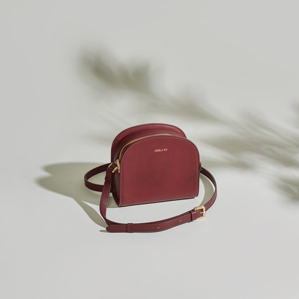Luna Cross-Body - Bordeaux