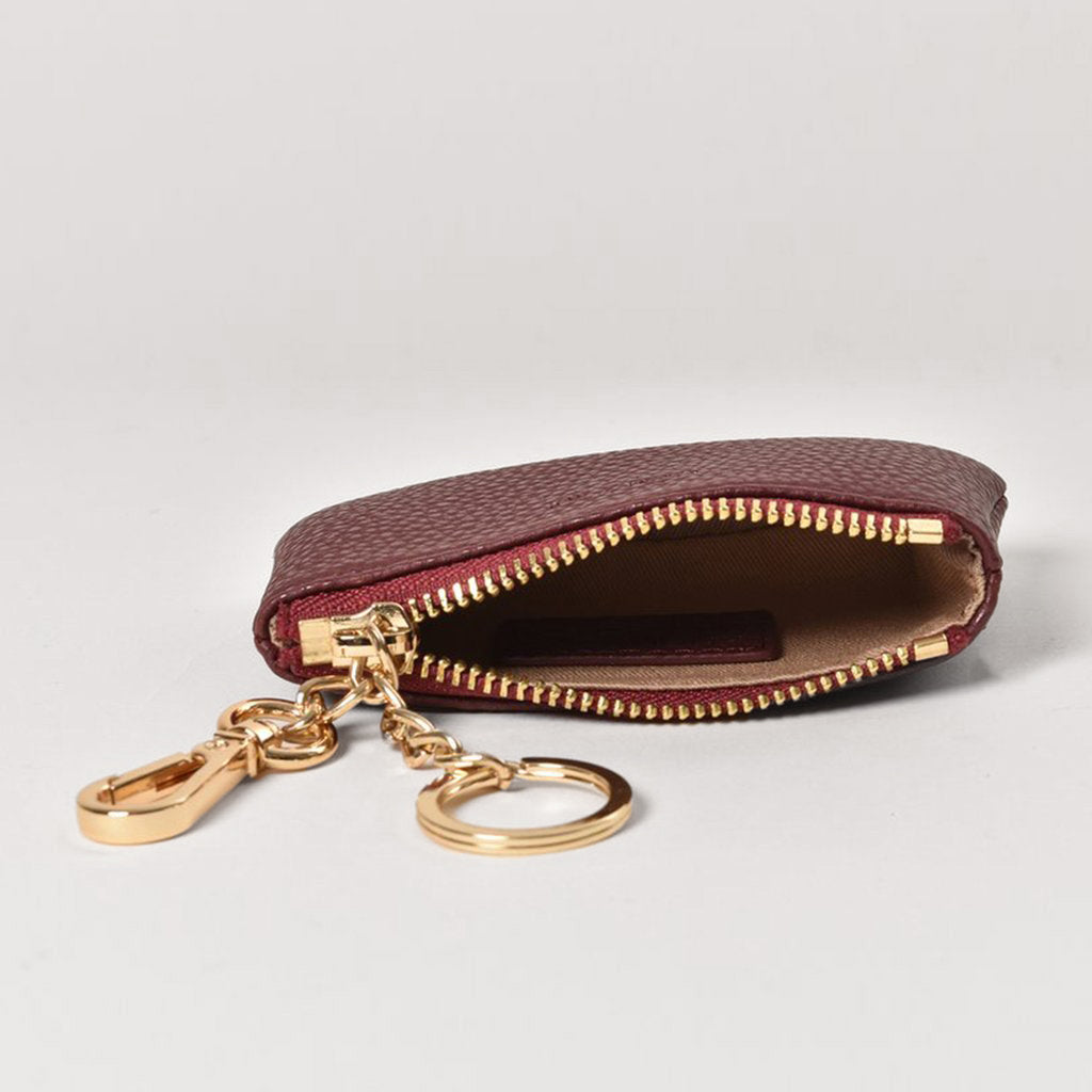 Zuri Card Pouch - Bordeaux [Sample Sale]