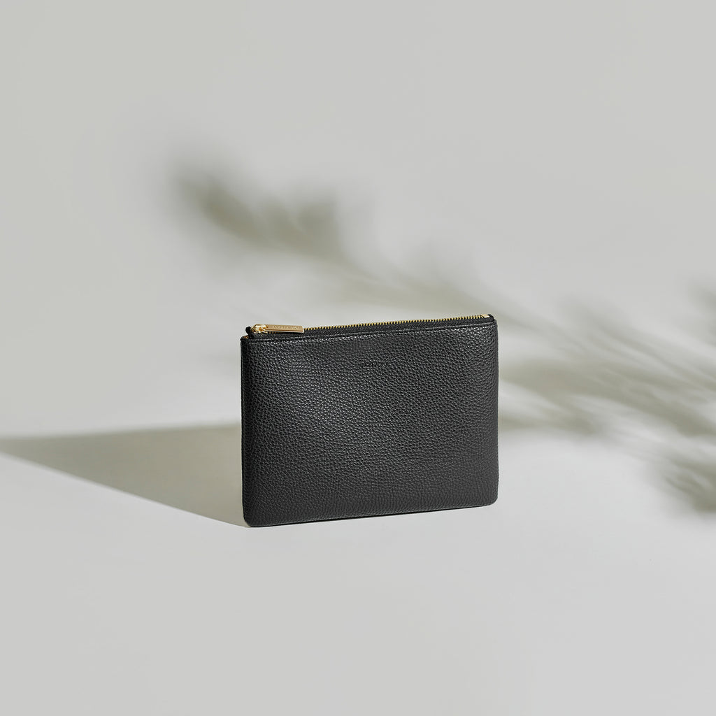 Zuri Travel Pouch - Black [Sample Sale]