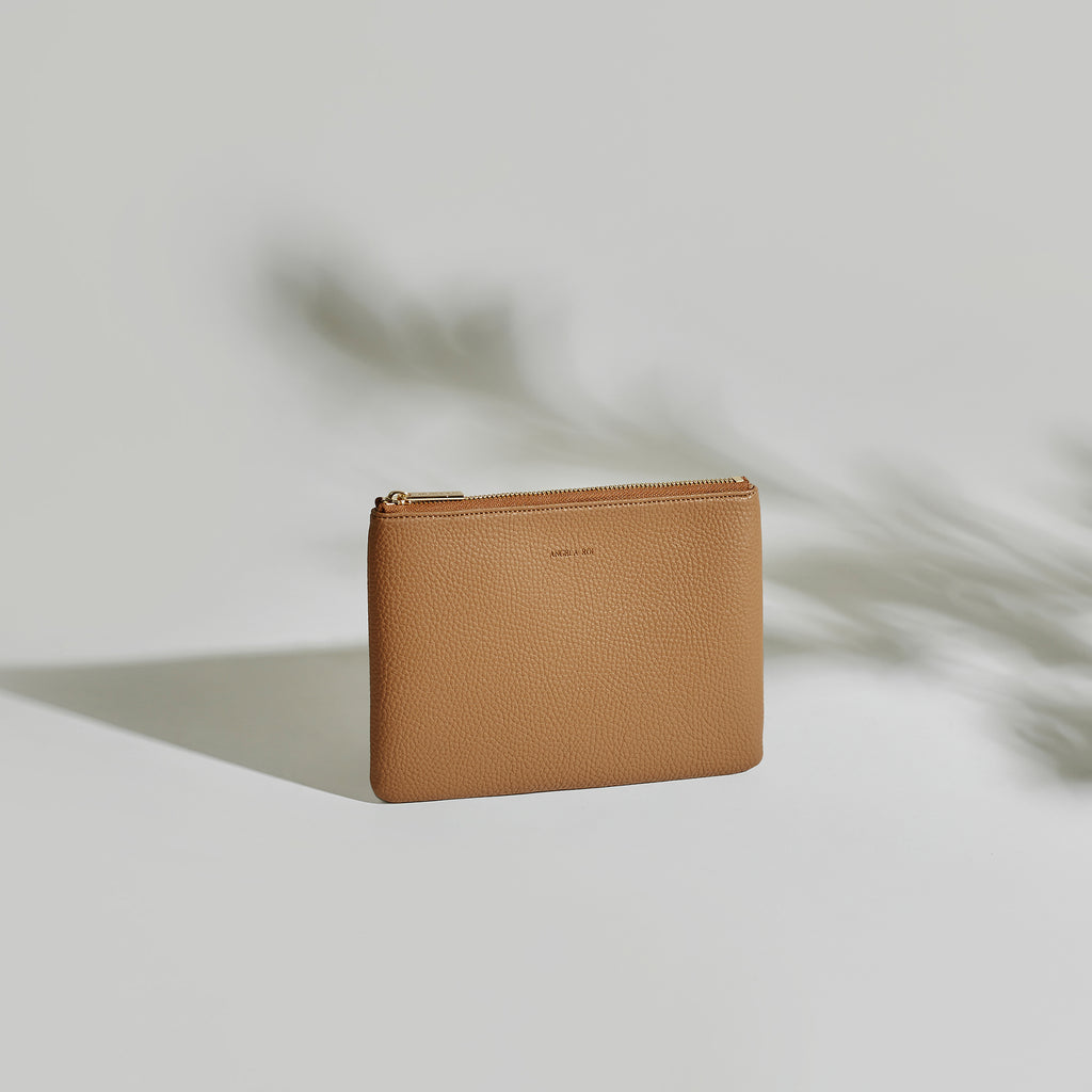 Zuri Travel Pouch - Russet [Sample Sale]