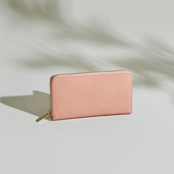 Olivia Z Wallet - Dusty Rose