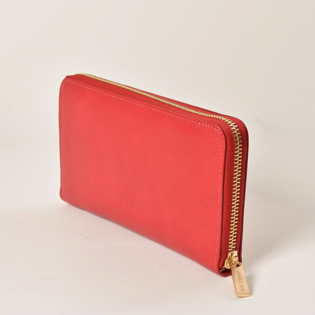 Olivia Z Wallet - Scarlet [Sample Sale]